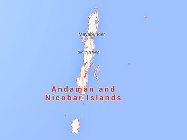 The Nicobar Islands hits by the earthquake of 6.0 magnitude