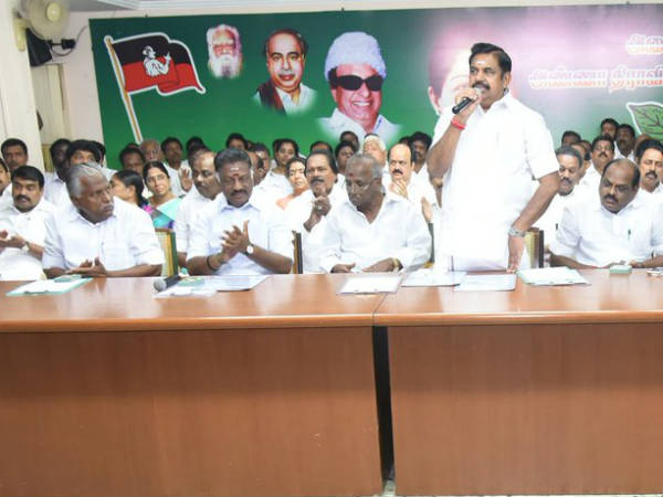 Who will be the candidate of ADMK?