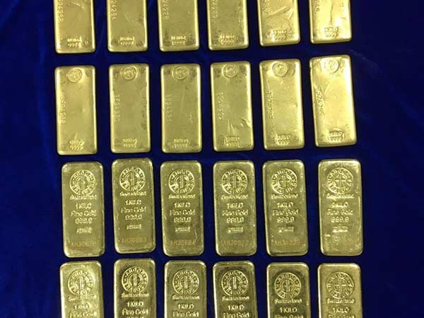 24 kg Gold Worth Rs. 8 crore Seized at Chennai Airport
