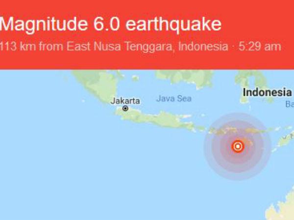 Indonesia earthquake: Magnitude 6.1 quake ROCKS Sumbawa