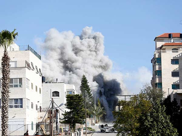 Israeli military attack Syria against Iran