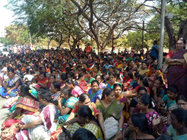 Jacto Geo protest: Government sent notices to 377 workers in Cuddalore