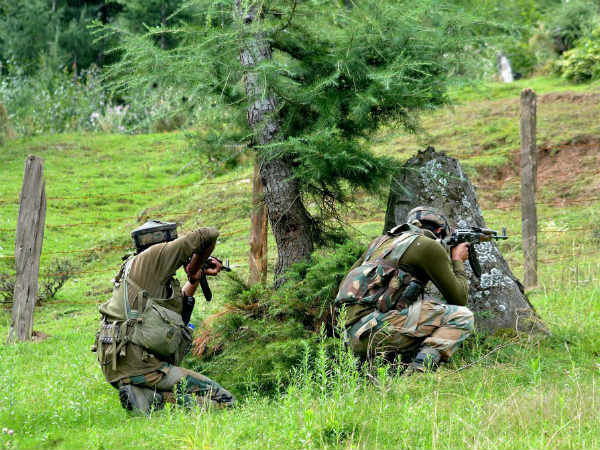 Security forces neutralise two terrorists during encounter in Khonmoh, Srinagar