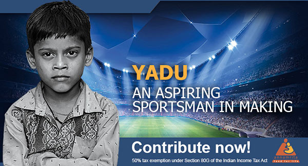 Come and help Yadu to realise his dream