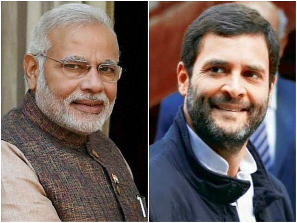 The popularity gap between Narendra Modi and Rahul Gandhi is lowest ever