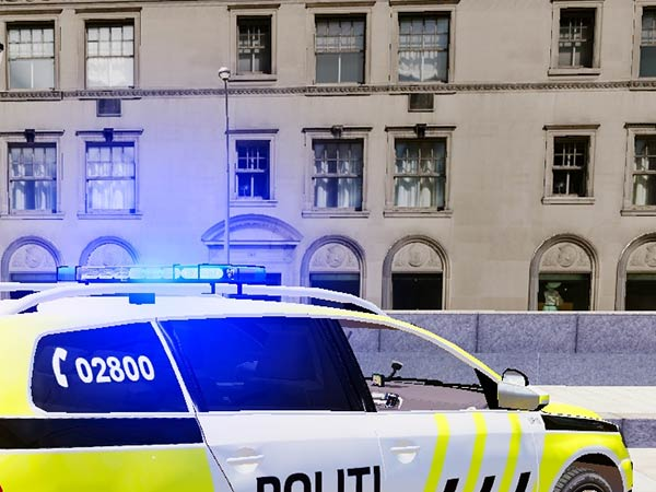 car thief in norway gets trapped and calls police to get out