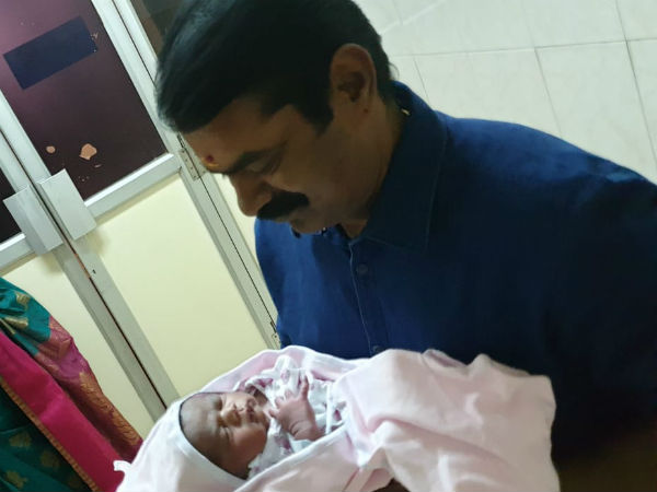 Seeman blessed with male baby