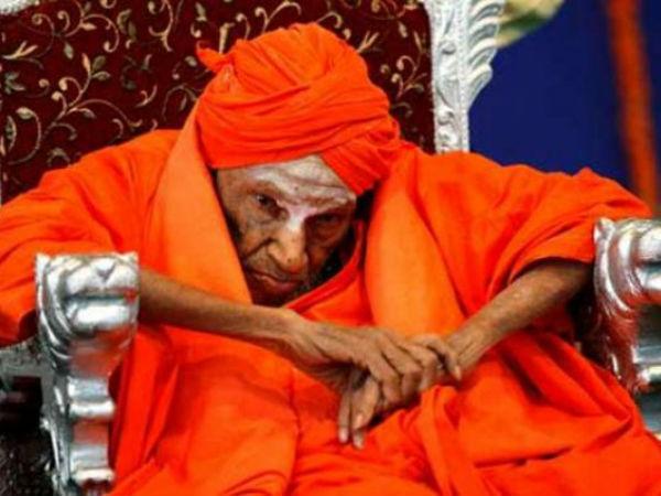 112 வயதான கர்நாடக துறவி ஸ்ரீ சிவகுமார சுவாமிஜி காலமானார்