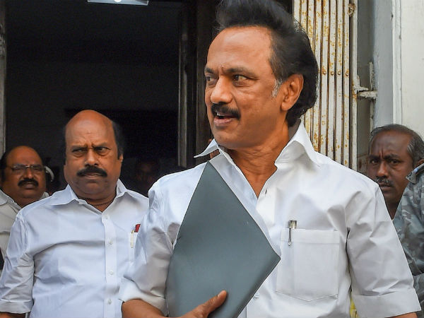 DMK and the Congress party MLAs workout in the Tamil Nadu Assembly