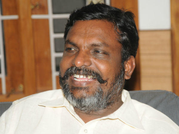 Thirumavalavan has filed a petition in the Supreme Court against 10 percent reservation