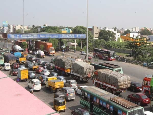 30 Percentage tollgate duty reduction on madurai - tuticorin road