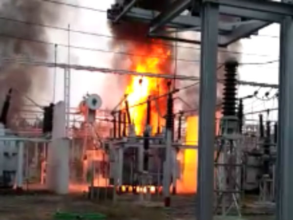 Transformer blasted in Avinasi