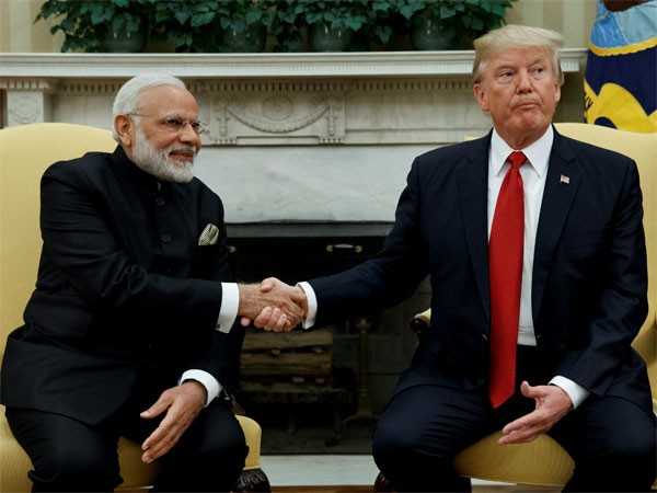 pm modi discussed with us president trump through telephone call
