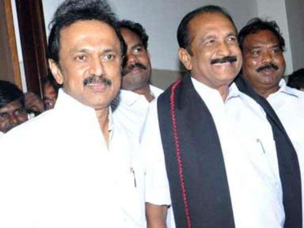 Will MDMK satisfy with two seats in DMK alliance?