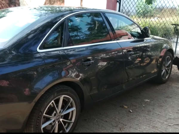 Audi car hits advocates in chennai high court and police arrested a man