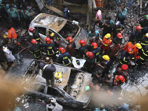 Fire in Bangladesh killed 69