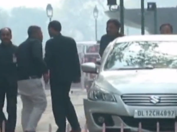 The car tried to enter Parliment from the same gate Used by Terrorists in 2001 Attack