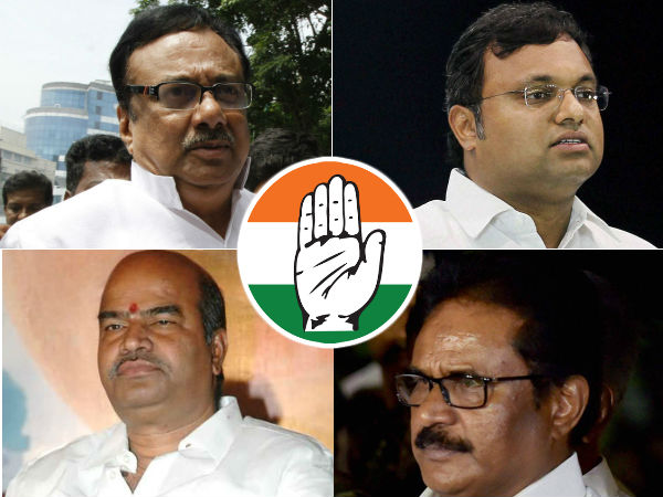 where will congress contest in tamil nadu