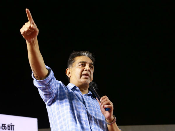 Kamal Haasan says that Tamilnadu people will choose PM of India