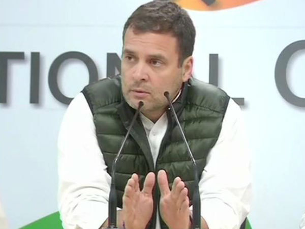 Entire opposition stand together with our jawans and our government says rahulgandhi