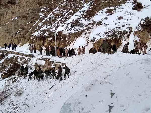 One Army man killed in Avalanche in Himachal Pradesh