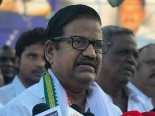 Ks alagiri, who was appointed as the president of tamilnadu congress, has taken in charge today