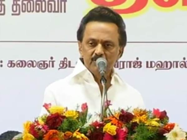 Dmk leader stalin said that bjp would not be able to stay in tamilnadu