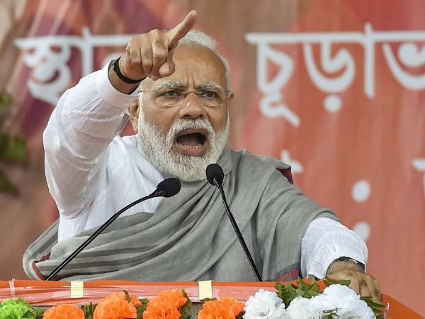 Mamata government adopted lefts culture of violence says modi