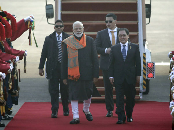 South Korea: Prime Minister Narendra Modi arrives in Seoul. He is on a two-day visit to the country.