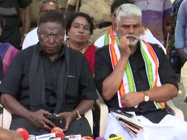 இன்றே முடிவுக்கு வருமா நாராயணசாமி தர்ணா.. பேடியுடன் பேச்சு