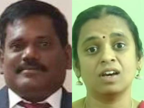 Suja expresses happiness for getting bail for her husband Murugan