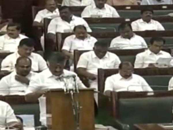Tamilnadu Budget 2019: Rs.8,884 Cr for Tamilnadu Police Department says OPS
