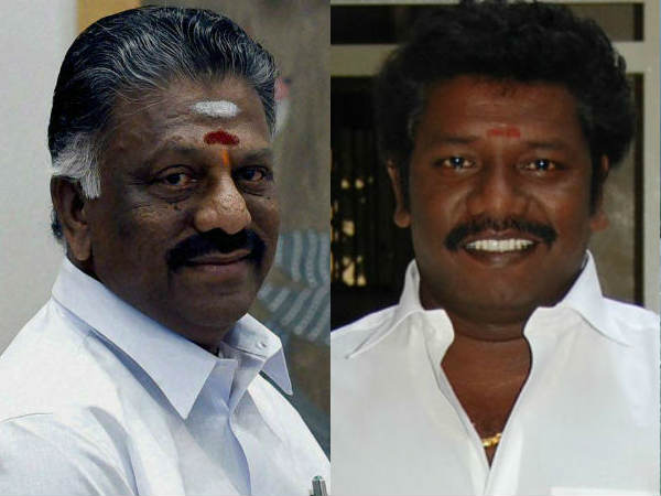 O. PaneerSelvam teases Karunas MLA for his tiger comment
