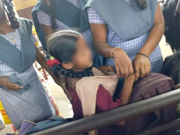 நான் உன் அப்பா.. 12 வயசு சிறுமியை கையை பிடித்து இழுத்த விஷமி.. பொதுமக்கள் சரமாரி அடி உதை