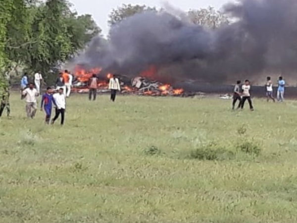 IAFs MiG-27 fighter jet crashes in Rajasthan