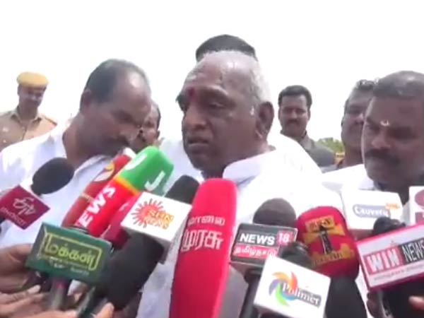 dmk budget was cheating not ours says pon radhakrishnan