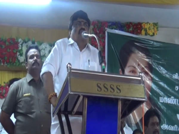opposites party are engine less train minister rajendra balaji criticism