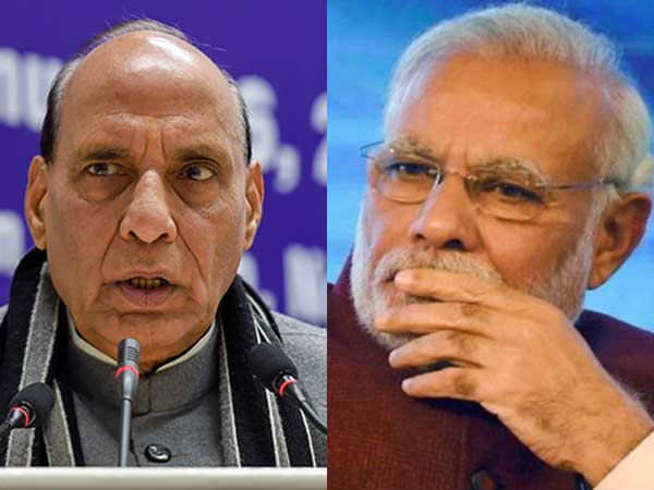 Can't question modi's honesty, says union minister rajnath