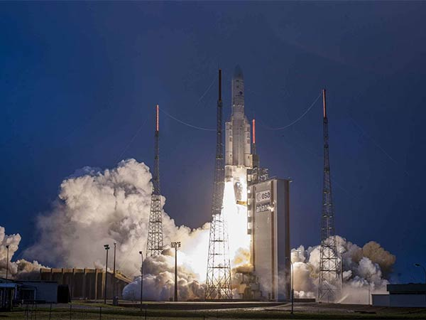 Satellite GSAT - 31 successfully launched from the spaceport in french guiana
