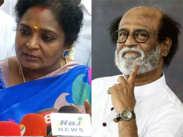 It is not against Us, Tamilisai Soundararajan reaction on Rajini Kanths election stand