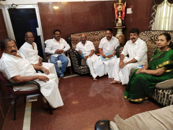 Thirunavukarasar met Vijayakanth- a few questions