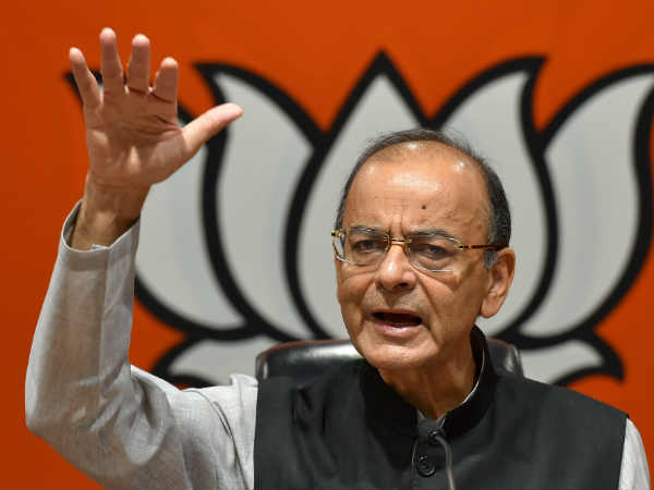 Poverty Alleviation Is Weapon To Congress Says Arun Jaitley