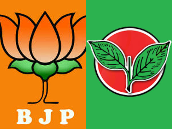 AIDMK and BJP Volunteers are confused over Lotus symbol in AIADMK constituency