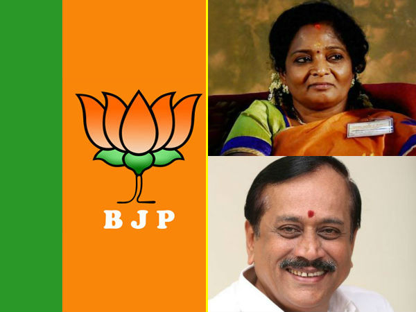 BJP candidates for Tamil Nadu announced
