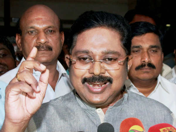 Cooker symbol is available to us only; TTV Dinakaran believes