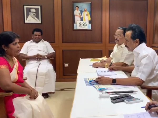 DMK starts its interview for 21 assembly constituencies