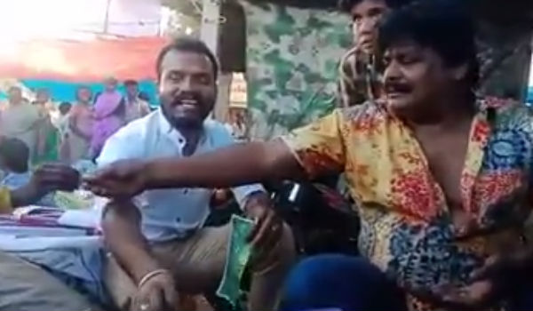 Image result for Actor Mansoor AliKhan Election Campaign at Dindigul