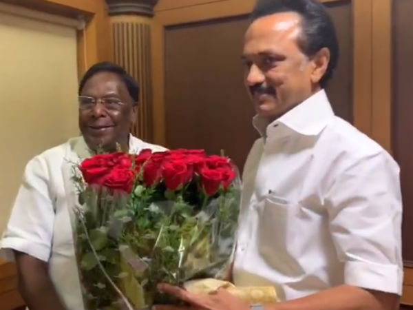 DMK contest in thattanchavady bypoll: Puducherry Chief Minister Narayanasamy announcement