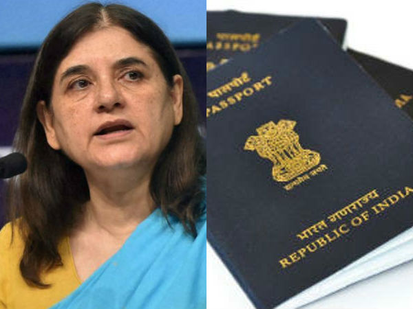 Maneka Gandhi says 45 passports of NRIs cancelled