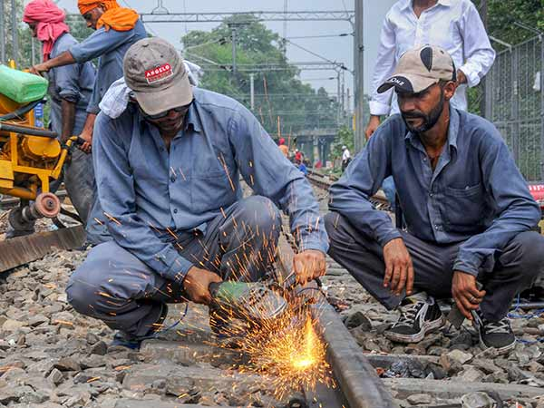 Engineers line up for welder and gang man jobs in railway